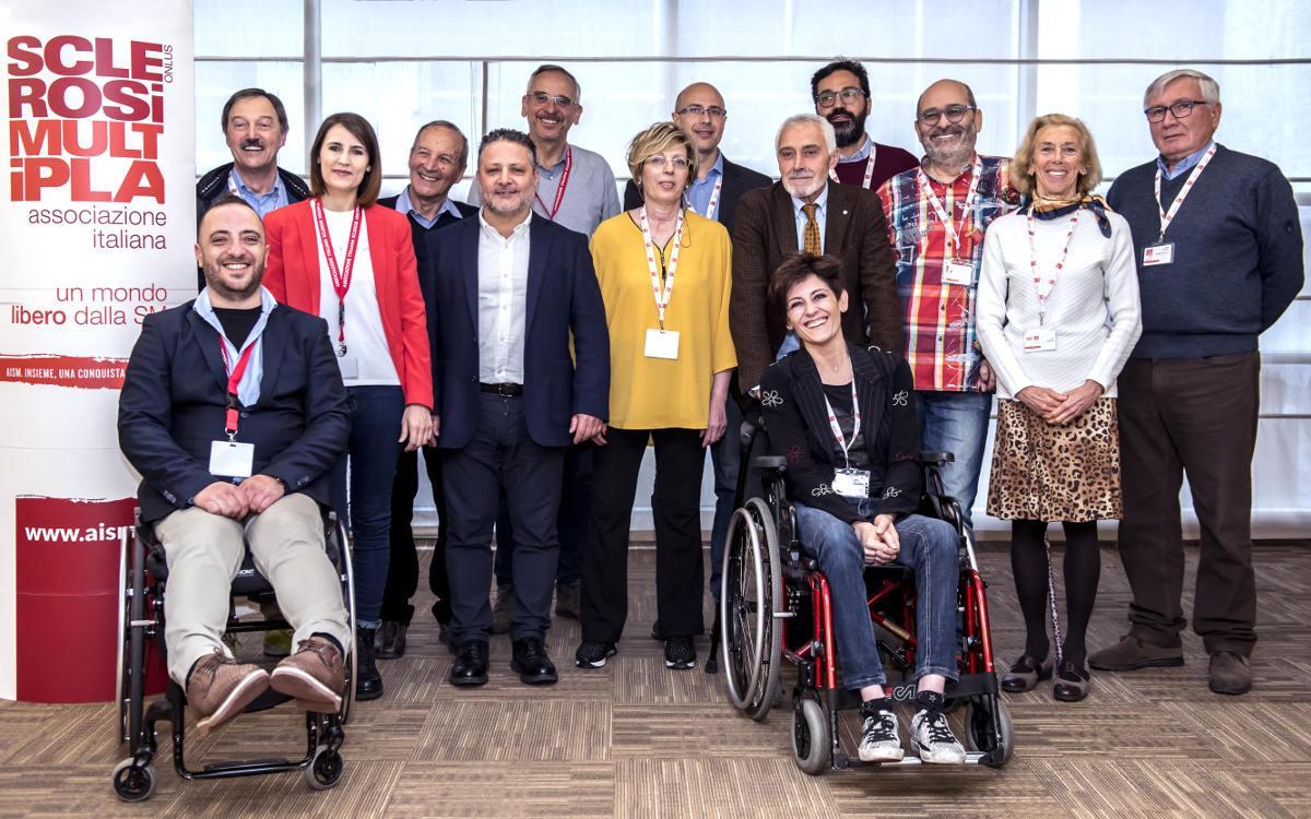 Il Consiglio Direttivo AISM 2019-2021