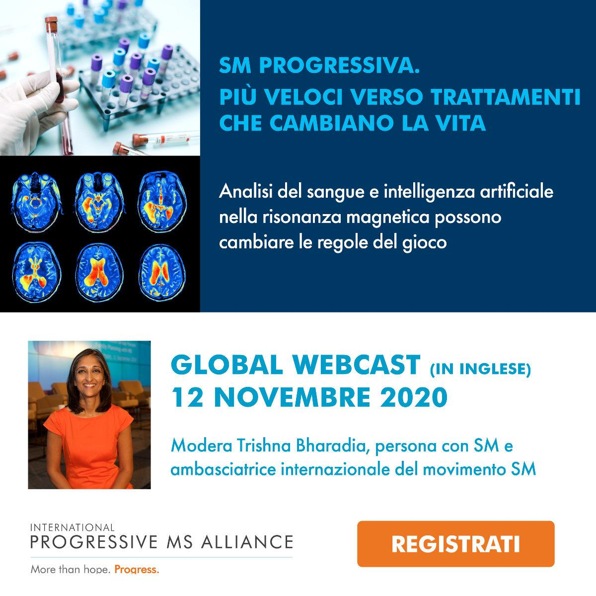 Progressive MS Alliance Global Webcast - 12 novembre 2020