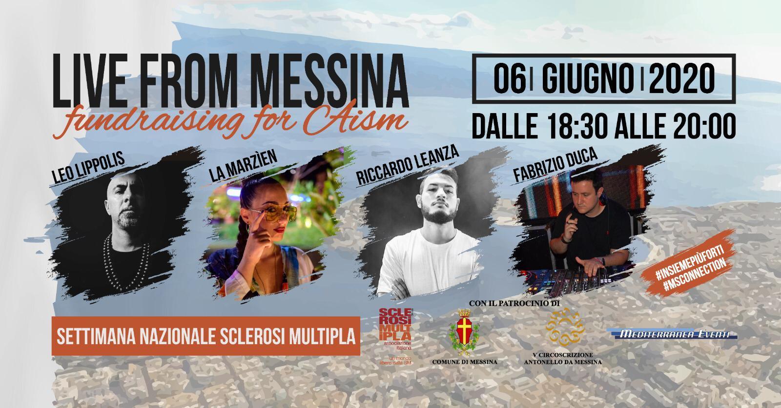 LIve Messina for AISM