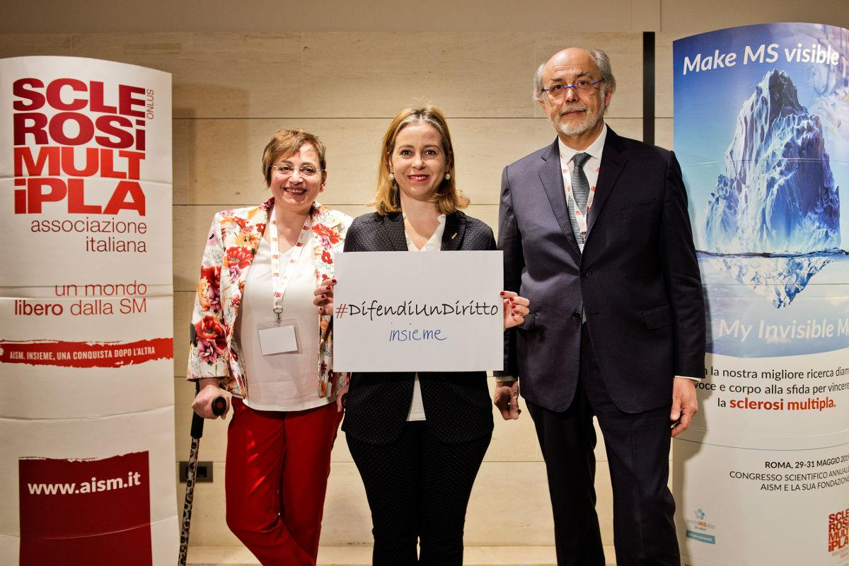 Angela Martino, Ministro della Salute Giulia Grillo, Mario Alberto Battaglia