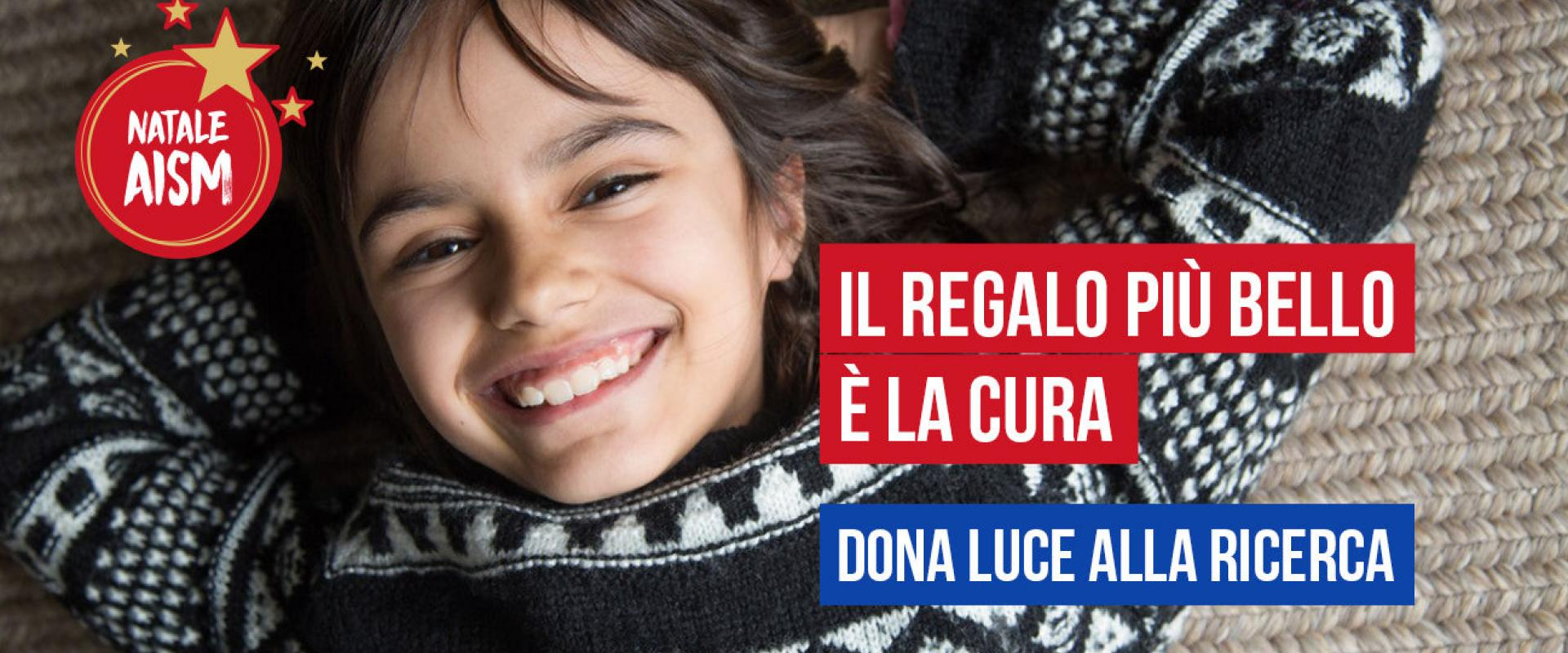 Natale AISM: dona luce alla ricerca