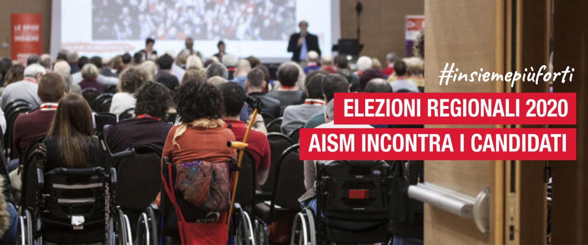 Elezioni regionali 2020. AISM incontra i candidati